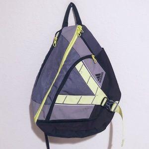 Adidas cross strap backpack!